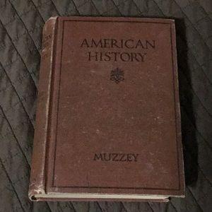 Vintage  (1920's-1930's) American History Book